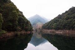 Dolina w Zhejiang Zdjęcie Royalty Free