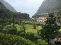 Dolina z widokiem Zdjęcia Royalty Free