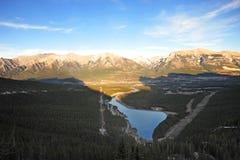 dolinne łęk góry Zdjęcie Royalty Free