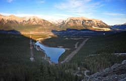 dolinne łęk góry Obraz Stock