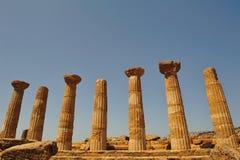 dolinne Agrigento świątynie Zdjęcie Royalty Free