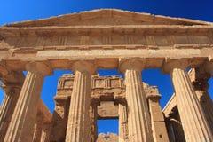 dolinne Agrigento świątynie Fotografia Royalty Free