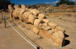 dolinne Agrigento świątynie Zdjęcie Stock