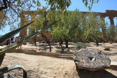 dolinne Agrigento świątynie Italy Sicily Zdjęcie Stock