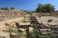 dolinne Agrigento świątynie Italy Sicily Obraz Stock