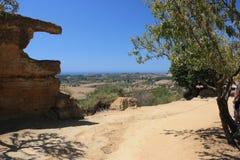 dolinne Agrigento świątynie Italy Sicily Zdjęcia Royalty Free