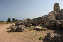 dolinne Agrigento świątynie Italy Sicily Fotografia Royalty Free