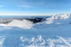 dolinni wysocy tatras Ranku foto Zdjęcie Royalty Free