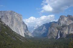 Dolinny widok Yosemite Zdjęcia Stock