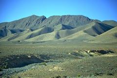 dolinny wzgórze w Africa Morocco atlant Obraz Royalty Free