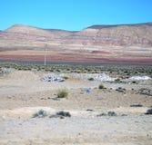 Dolinny wzgórze w Africa Morocco atlant góry sucha ziemia Fotografia Royalty Free