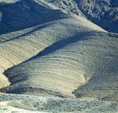 Dolinny wzgórze w Africa Morocco atlant góry sucha ziemia Obrazy Stock