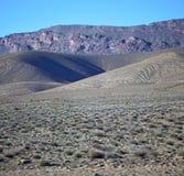 Dolinny wzgórze w Africa Morocco atlant góry sucha ziemia Fotografia Stock