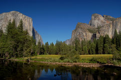 dolinny Yosemite zdjęcia royalty free