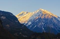 Doliny i góry Obrazy Royalty Free
