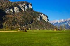 Doliny i góry Zdjęcie Stock