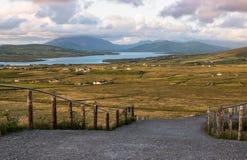 Doliny i jeziora, Co Kerry ireland Obrazy Stock