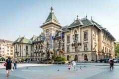 Dolj County Prefecture in Craiova, Romania Stock Image