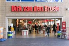 Dolk skåpbil håla Broek Fotografering för Bildbyråer