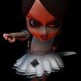 Doll 14 van Halloween   Stock Foto's