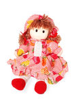 Doll. Toy red gift surprise kitsch object Royalty Free Stock Photo