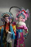 The doll of Beijing opera. Taken in the studio decoration stock photography