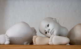 Doll body parts Royalty Free Stock Photography