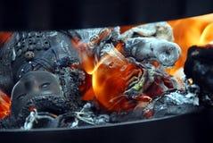 Doll burning Stock Photo