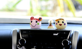 Doll car of smile. Are my friend Stock Photography