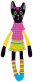 Doll cat Royalty Free Stock Photography