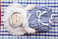 Doll from cloth Stock Photos