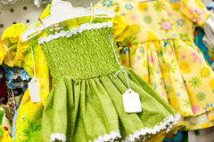 Doll clothes Stock Photo