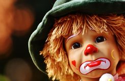 Doll, Clown, Sad, Colorful, Sweet Stock Photography