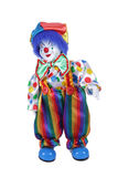 Doll clown in trousers Stock Photos