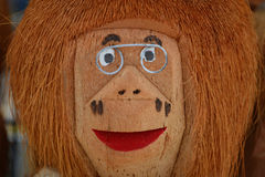 Doll coconut Stock Image