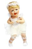 Doll in a dress of the bride Royalty Free Stock Image