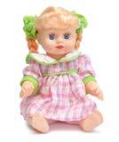 Doll in een roze kleding Royalty-vrije Stock Foto