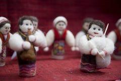 Doll en volksdansen royalty-vrije stock afbeelding