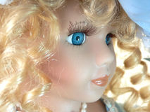 Doll face Royalty Free Stock Photography