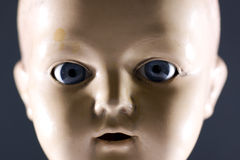 Doll face Stock Photography