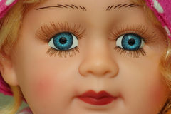 Doll face Royalty Free Stock Photo
