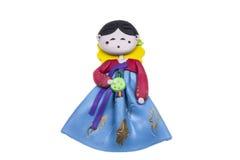 Doll  female Korea traditional souvenir Royalty Free Stock Photo