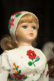 Doll In Folk Costume Royalty Free Stock Photo