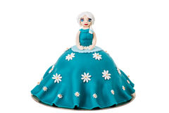 Doll in the form of a cake. Stock Photo