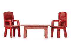 Doll furniture Stock Photo