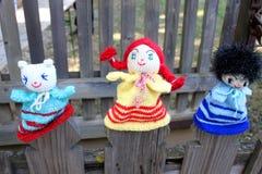 Doll geweven hand Royalty-vrije Stock Fotografie
