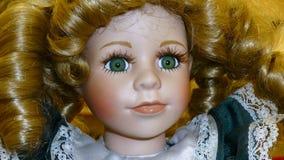 Doll gezicht Stock Afbeelding