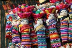Doll Guatemala. Lucky doll rag at Chichicastenango market in Guatemala Royalty Free Stock Photo