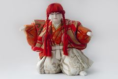 Doll of Hakata Ningyoo in japan. royalty free stock photography