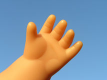 Doll hand Royalty Free Stock Image